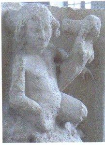 Eve ou la création de la femme. Palais du Tau Salle du Goliath . Musée de la cathédrale de Reims.